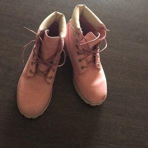 Timberland Boots Pink Cute EU 39 (7.5/8)
